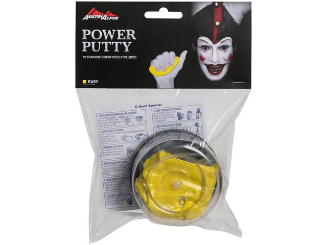 AustriAlpin Power Putty Ejercitador de mano ligero, yellow